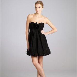 Shoshanna Black Bubble Dress